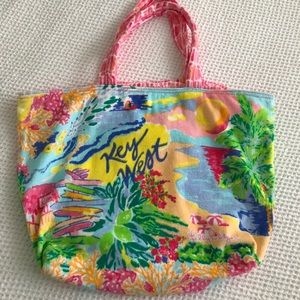 Lilly Pulitzer Key West Destination Tote Bag New